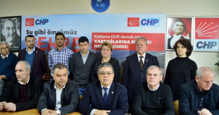 """CHP İl Yönetimi'nden Erkek'e sitem """"Her nedense ortada yok"""""""
