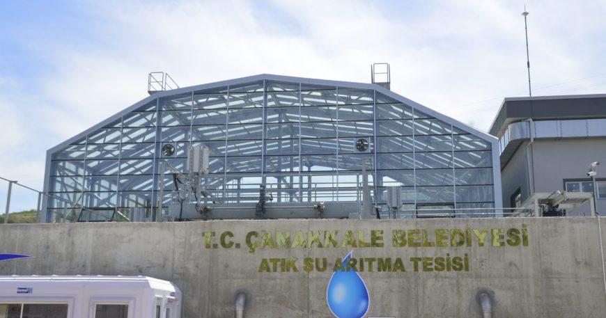 Türkiye'de ilk ve tek! Güzelyalı-Dardanos Atıksu Arıtma Tesisi açıldı