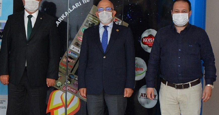 Rektör Sedat Murat onur konuğu olarak katıldı