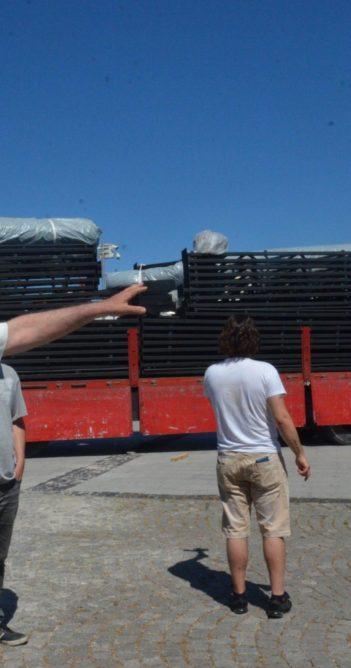 İskele Meydanı'nda çadır krizi (Videolu Haber)