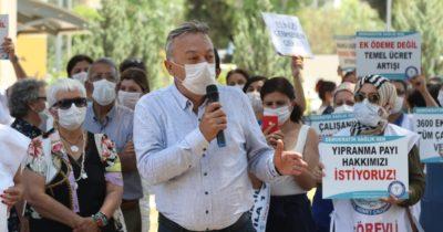 """""""Sağlık çalışanlarını kahraman ilan edip cebine el atan iktidar görülmemiştir"""""""