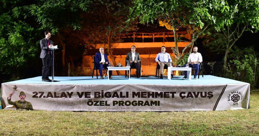 Mehmetçik'in isim babasına özel program