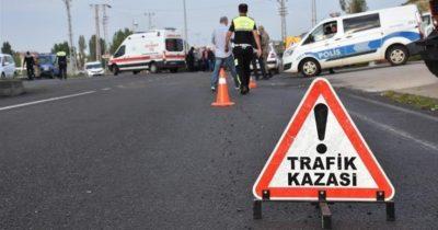 Çan-Yenice karayolunda kaza