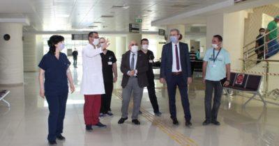ÇOMÜ Hastanesi normalleşme sürecine hazır