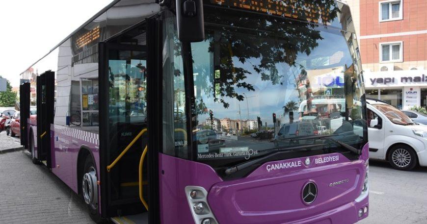 Otobüs seferleri yeniden düzenlendi
