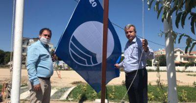 Karabiga Halk Plajına 'Mavi Bayrak'