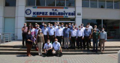 CHP Çan ilçe örgütünden Kepez ziyareti