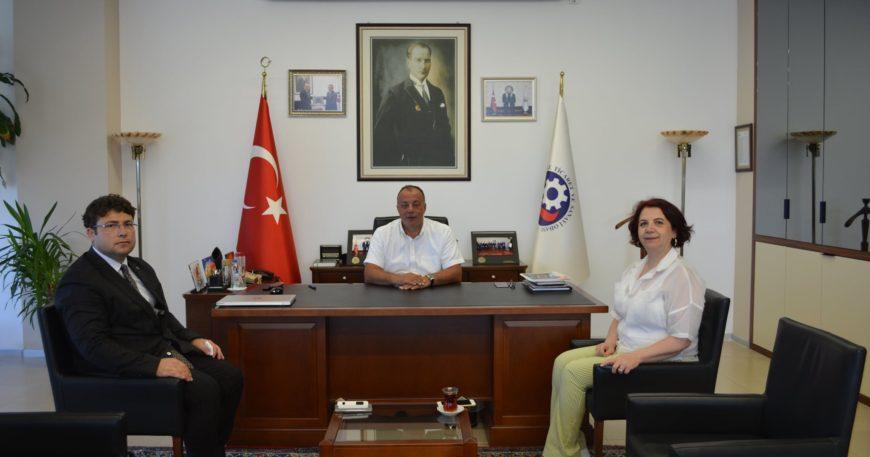 GMKA Genel Sekreteri ÇTSO'yu ziyaret etti