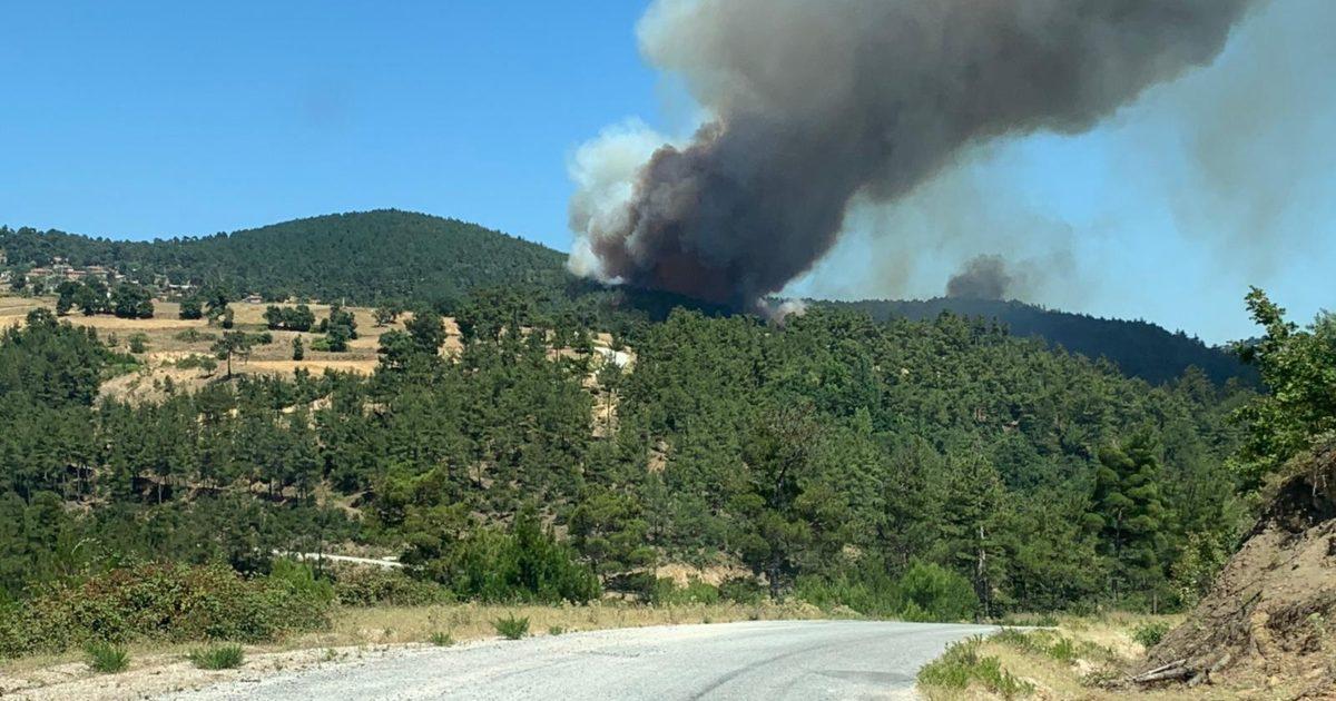 Yangına müdahale devam ediyor