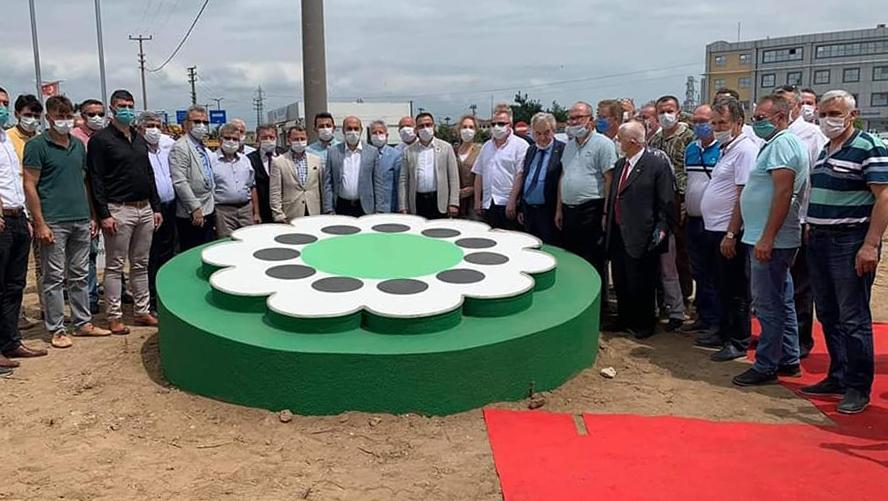 Srebrenitsa anıtı açılışı yapıldı.