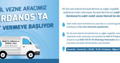 Sabit mobil vezne hizmeti devam ediyor
