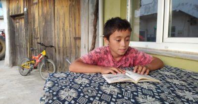 Üç köy binlerce kitapla buluştu