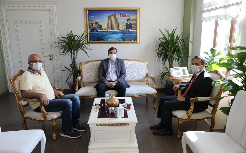 Vekil Ceylan'dan Vali Aktaş'a ziyaret