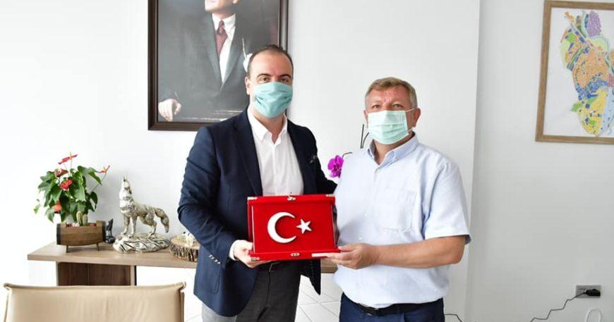 Çorumlu başkandan Erdoğan'a ziyaret