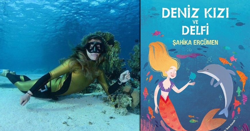 Şahika'nın kitabı Delfi ve Denizkızı yayında!