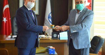 Büyükelçi Brown'dan Başkan Gökhan'a ziyaret