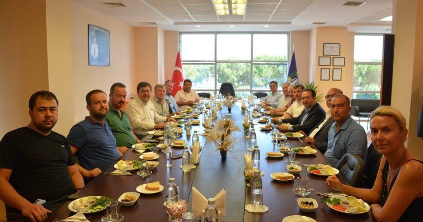 CHP'li vekillerden ÇTB ziyareti