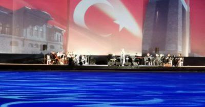 Hamidiye Tabyası'nda zafer konseri (Videolu Haber)