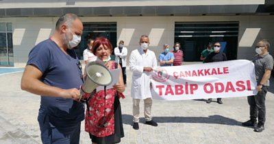 """""""Hekimler ve sağlık çalışanlarınınenerjisi ve sabrı tükeniyor"""" (videolu haber)"""