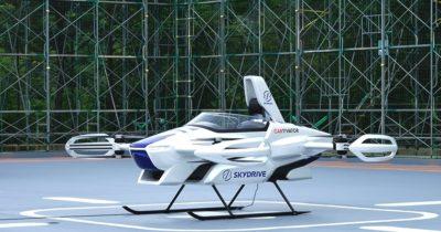 Uçan araba test edildi (Videolu haber)
