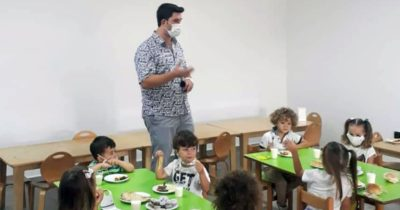 Anaokulu öğrencilerine ziyaret