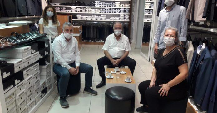 Başkan Gökhan'dan esnaf ziyaretleri