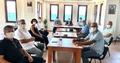 CHP'lilerden Ziraat Mühendisleri Odası'na ziyaret