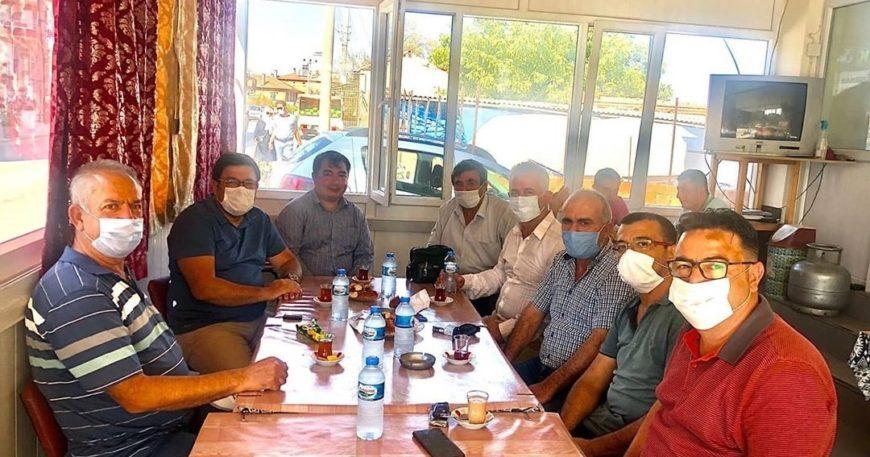 Güzelköy Köyü'ne gittiler