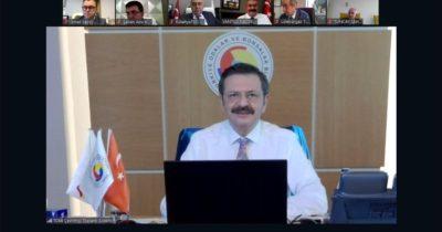 Semizoğlu Hisarcıklıoğlu ile görüştü