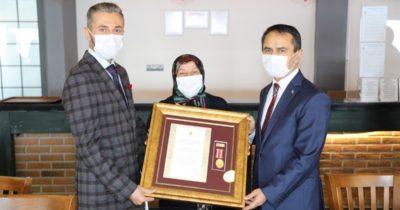 Devlet Övünç Madalyası ve Beratı Tevcih töreni yapıldı