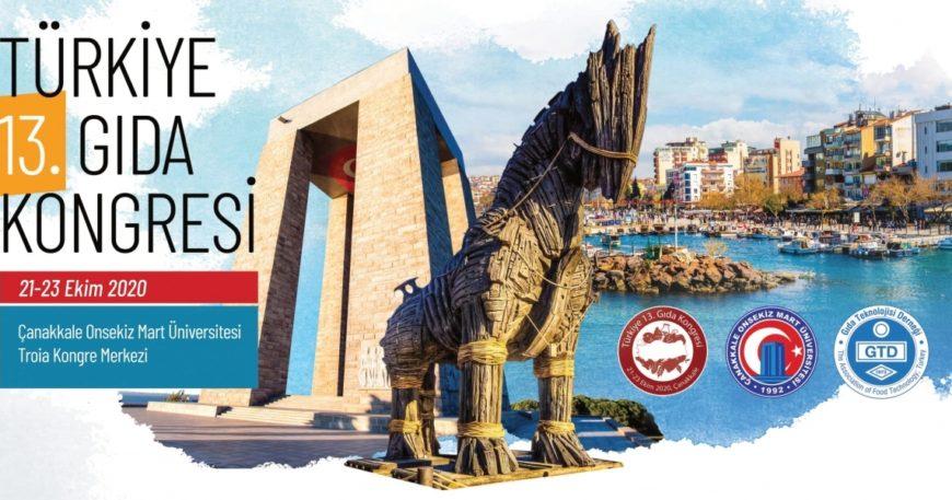 Türkiye 13'üncü Gıda Kongresi açılış töreni online yapıldı