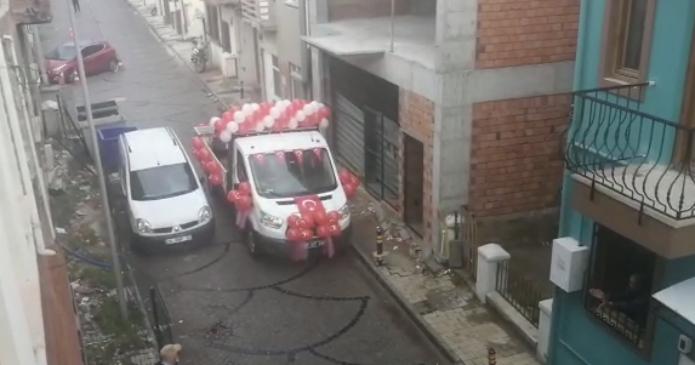 Sokaklar marşlar ile yankılanıyor (Video Haber)