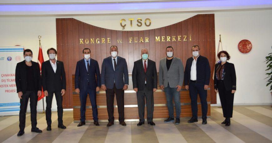 Başkan Gökhan ÇTSO'da