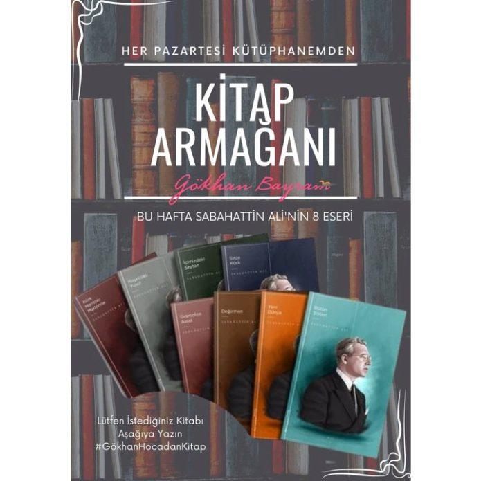 Bayram Hoca'dan her hafta kitap armağanı
