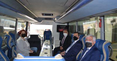 Kooperatifçilik otobüsü Çanakkale'de