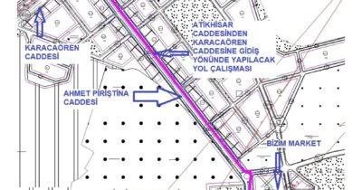 İki cadde trafiğe kapatılacak