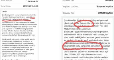 """""""Bülent Öz'ü şikayet etmedim"""""""