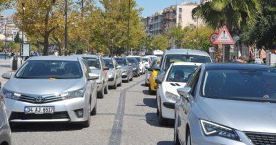 Çanakkale'de trafiğe kayıtlı araç sayısı 238 bine ulaştı