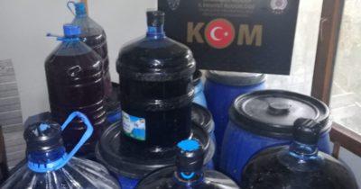 Emniyet'ten kaçak alkol üretimine operasyon