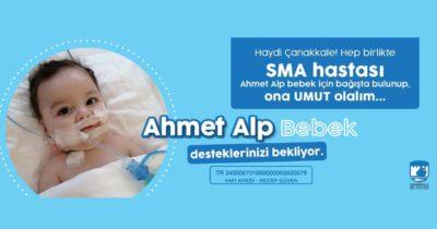 SMA hastası Ahmet Alp'e destek olalım!