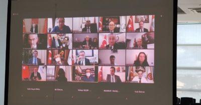 Başkan Gökhan, CHP'li belediye başkanlarıyla görüştü
