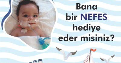 Haydi Çanakkale Ahmet Alp'e nefes olalım!
