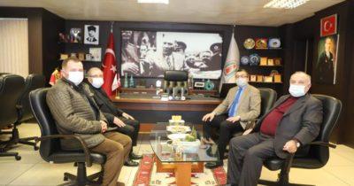 Özacar'dan Başkan Öz'e ziyaret