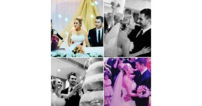 Evlilik yıl dönümlerini kutladılar