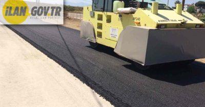 Sıcak karışım asfalt ile yol yaptırılacaktır
