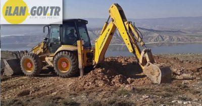 2 Adet kazıcı yükleyici ve kepçe kiralama hizmeti alınacak