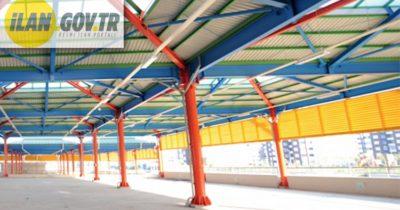 Kepez Belediyesine ait kapalı pazaryeri alanı satılacaktır