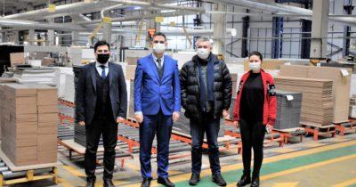 İŞKUR'dan üretim tesisine ziyaret