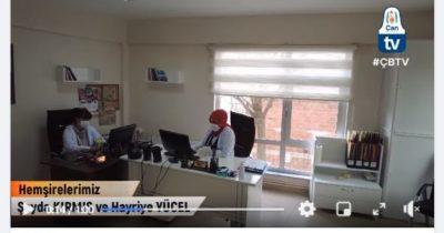 Halk Sağlığı Merkezi hizmet vermeye devam ediyor (videolu haber)