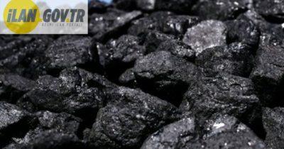 Kömür alınacaktır